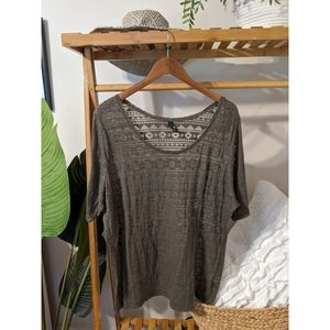 NWT burned out top
